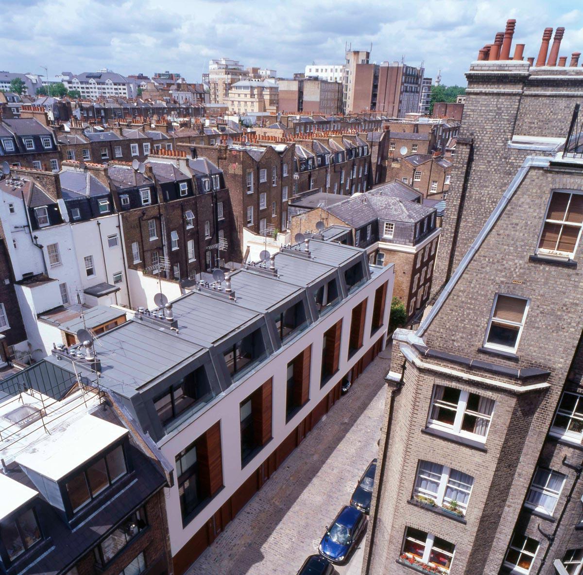 40-41 Chagford Street Aerial
