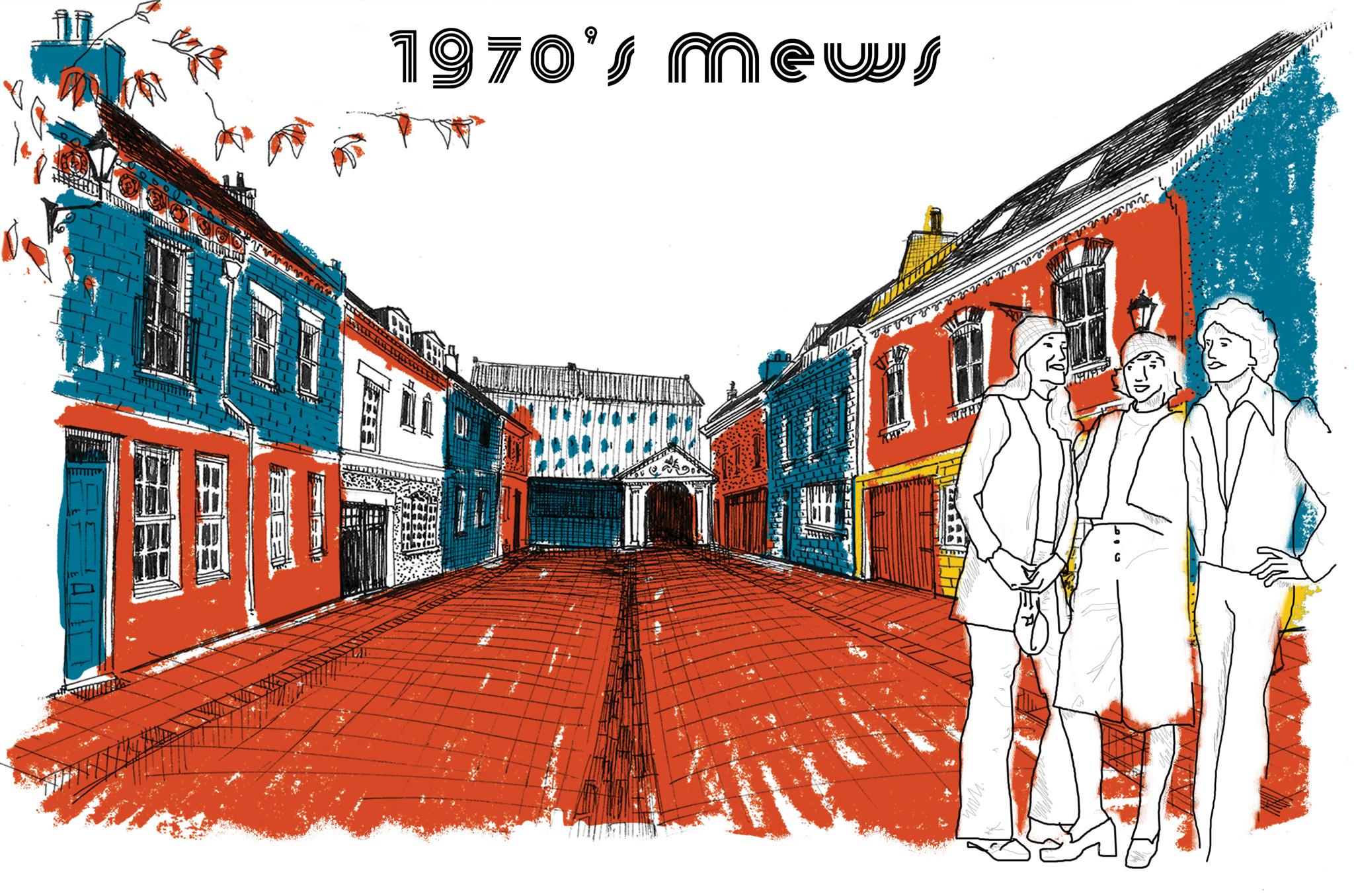 1970's Mews